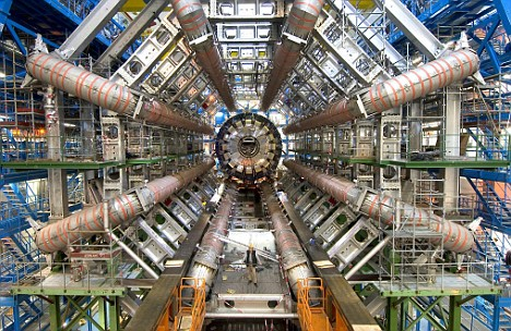A Hadron Collider.  Naturally.  (CERN/PA)