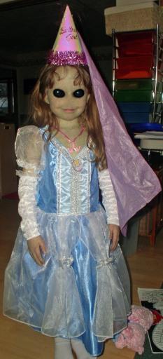 My daughter is alien to me...