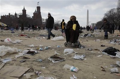 Environment is our charge and we are responsible sayeth the Liberals.  (AP Photo/Carolyn Kaster)