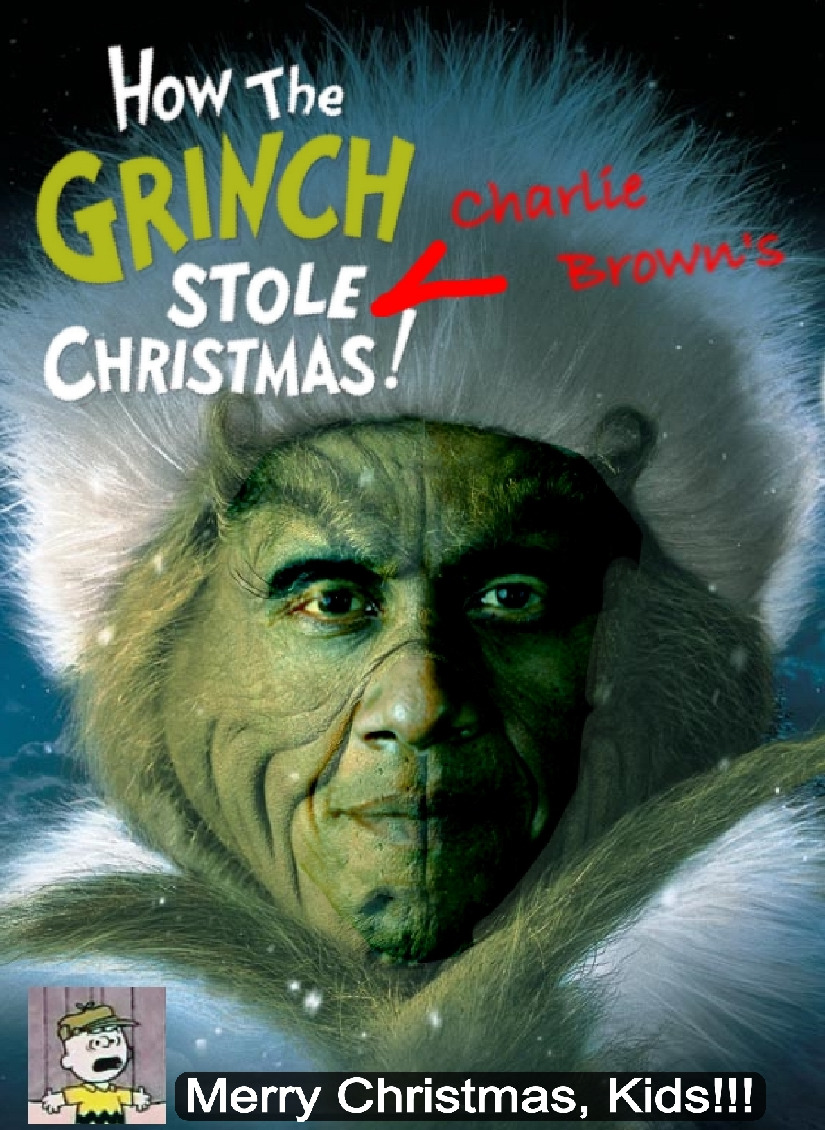How the Grinch Stole Charlie Brown\'s Christmas | Lemur King\'s Folly