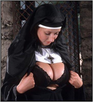 nuns boobs Nude