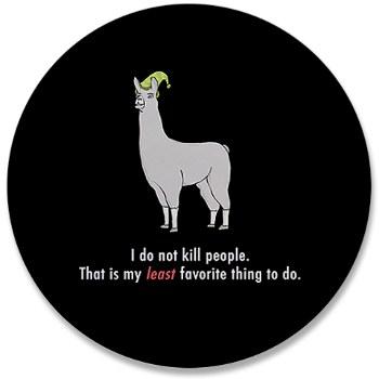 llamas in hats. But Llamas with Hats make me